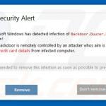 Antivirus 10 displaying fake error pop-ups (sample 4)