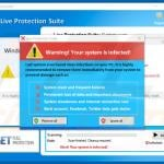 live protection suite warns about infected system