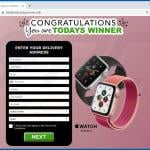 congratulations you are todays winner scam apple watch