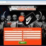 congratulations you are todays winner scam nike gift card