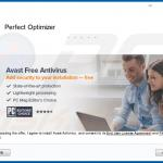 perfect optimizer unwanted application downloder promoting avast
