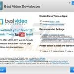 Yontoo installation via best video downloader