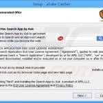 search.ask.com browser hijacker installer sample 3