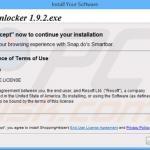 snapdo.com browser hijacker installer sample 5