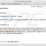 malicious email attachment spreading ctb-locker ransomware sample 2