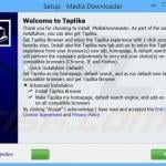 taplika.com browser hijacker installer sample 5