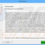 gamesdesktop adware installer sample 6
