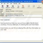 teslacrypt ransomware distributing email sample 2