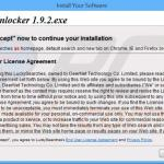 luckysearches.com browser hijacker installer sample 2