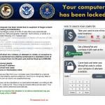 ransomware exploiting the names of authorities sample 2