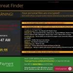 crypto ransomware sample 4 - threat finder