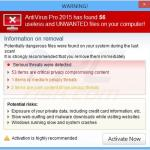 antivirus pro 2015 fake alert sample 5