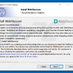 web discover adware installer sample 2