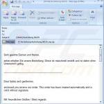 spam email distributing locky sample 3