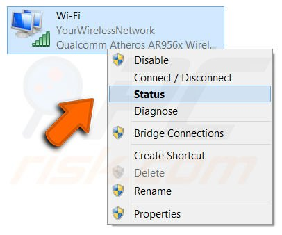 how to use computer to find forgotten wifi password