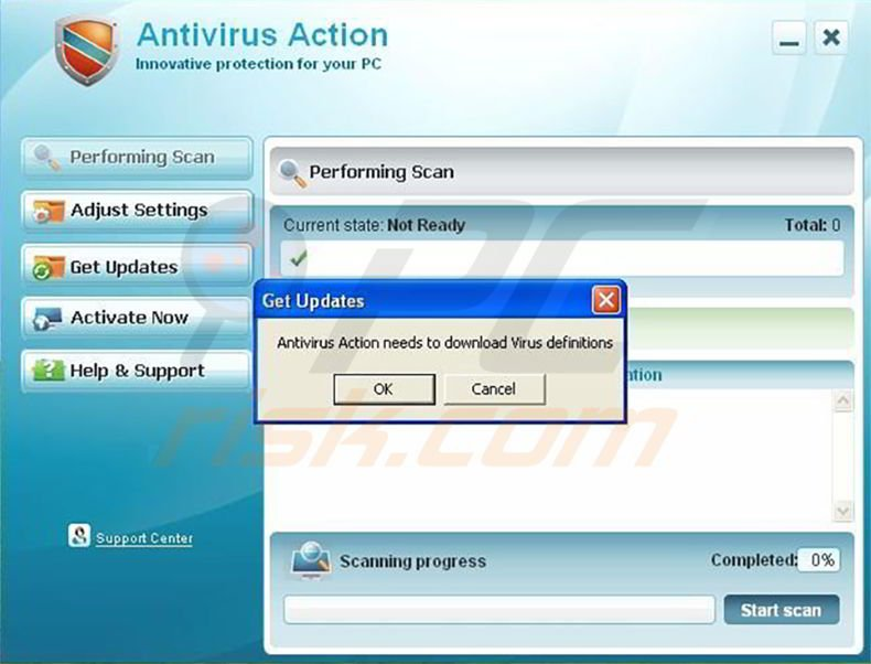 how to make a fake antivirus with notepad