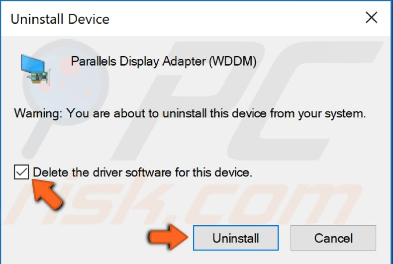 reinstall video drivers step 3