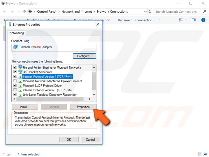 configure tcp ip settings manually step 3