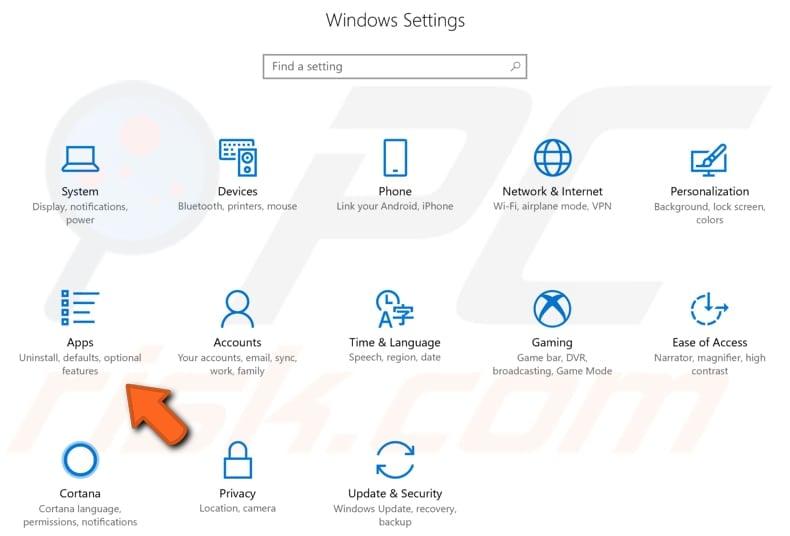 uninstall eset smart security antivirus step 1