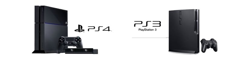 ps3 and ps4