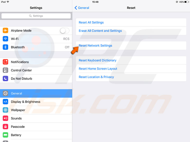 iphone reset network settings how to fix a problem occurred with this webpage so it was 2677