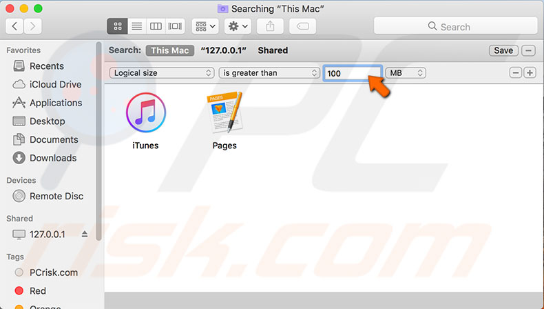 How to obtain free space on macOS or Mac OS X drive?