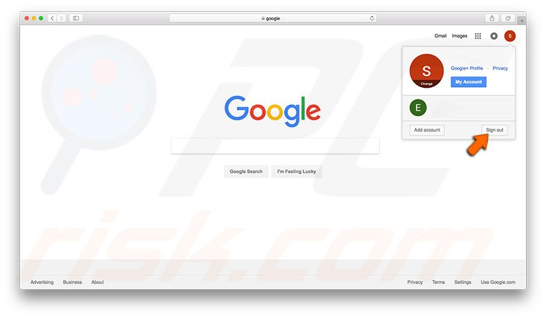 how to find out google account