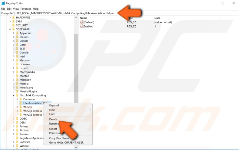 how to clean registry in windows 7 using cmd