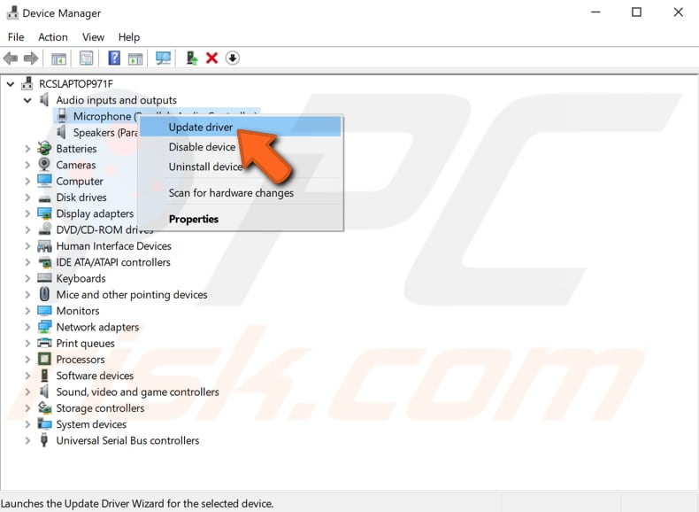 how to fix recording device on skype