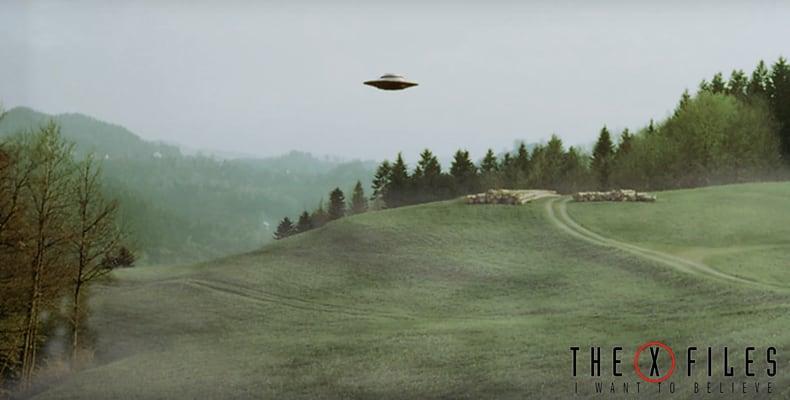X Files Fog Hill Live Wallpaper