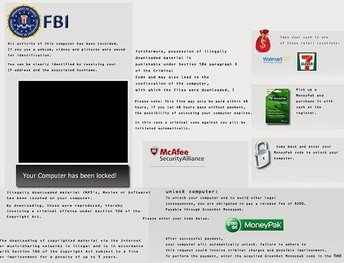 How to remove FBI Virus - Your Computer Has Been Locked