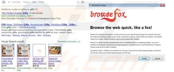BrowseFox ads