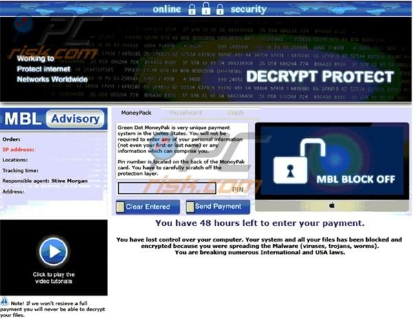 Decrypt Protect ransowmare virus