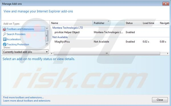 how to remove avg search engine from internet explorer