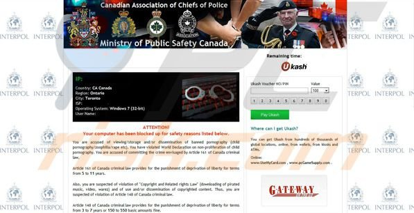 Ministry of Public Safety Canada