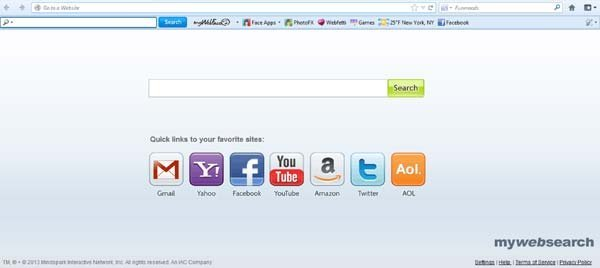 mywebface toolbar