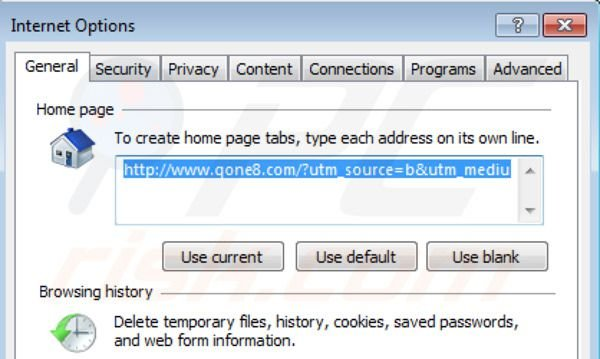 how to change internet explorer 9 homepage