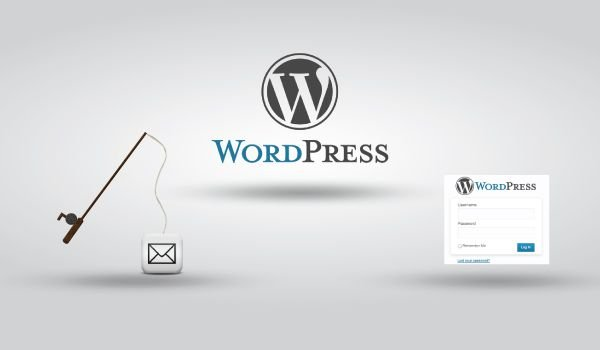 Wordpress phishing using targeted spam