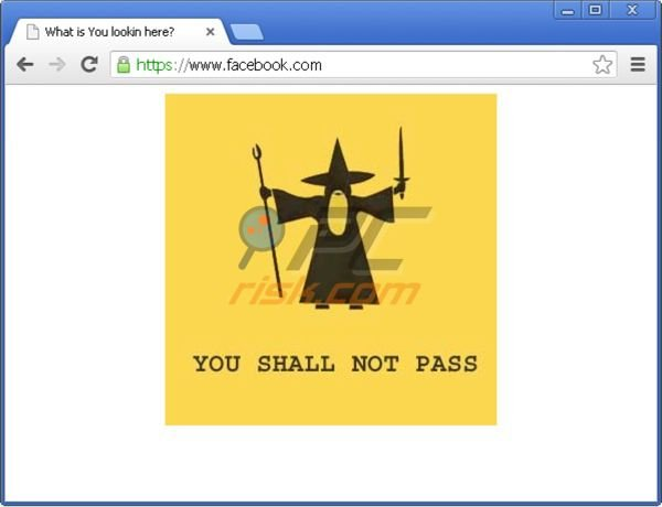You shall not pass virus