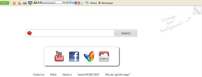 iminent toolbar screenshot