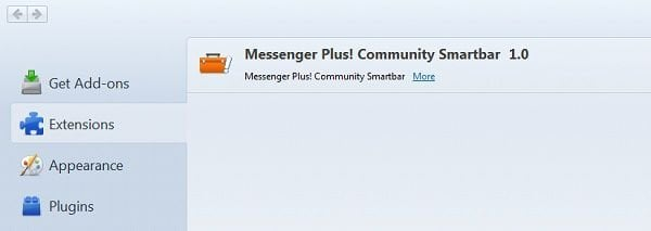 messenger plus community toolbar mozilla firefox