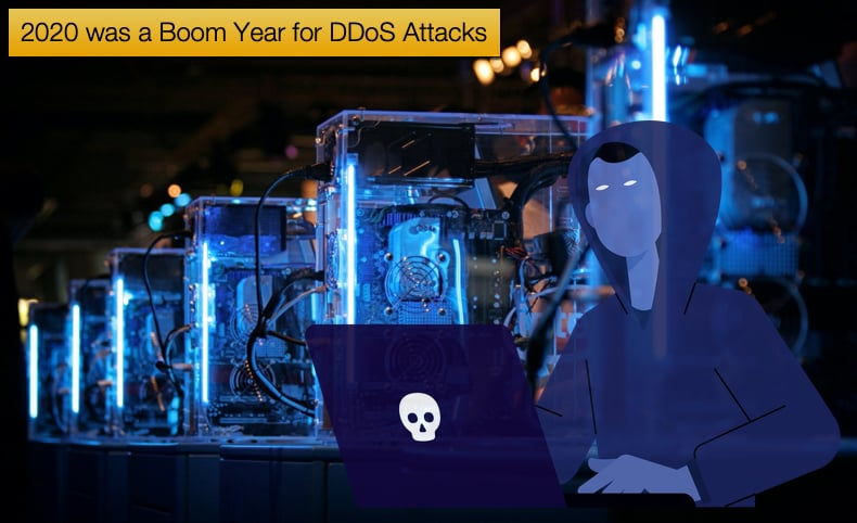 2020 was a boom year for ddos attacks