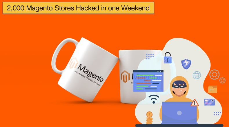 2k magento stores hacked over the weekend