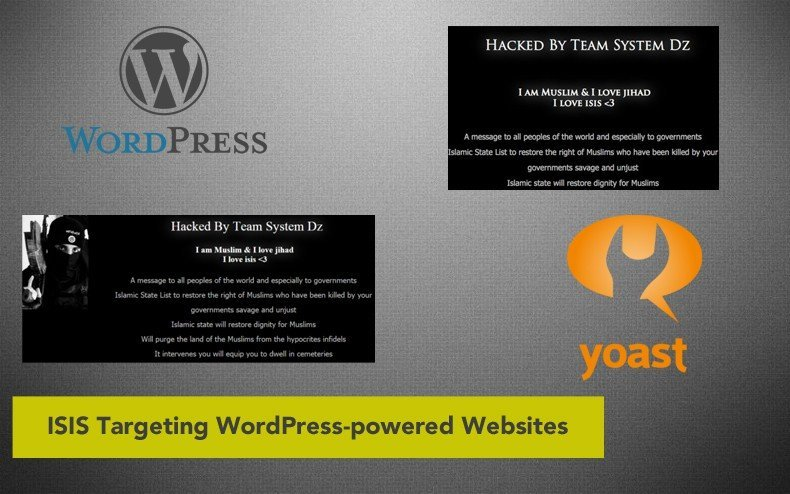 ISIS Targeting WordPress-powered Websites