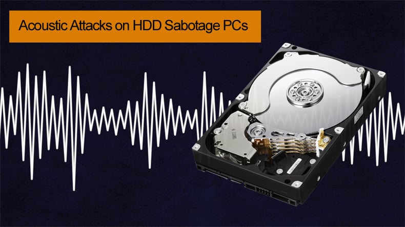 acoustic attacks on hdd drives