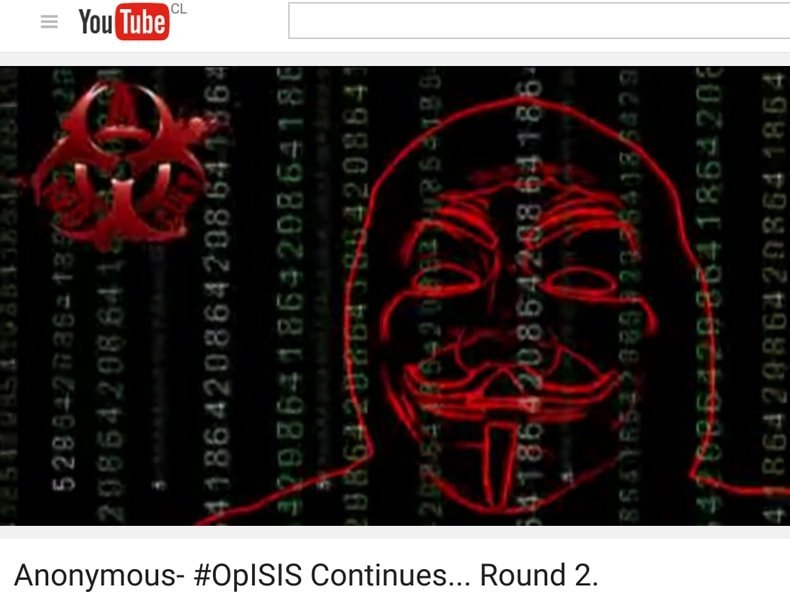 Anonymous Hacks ISIS Website, Defaces it with …