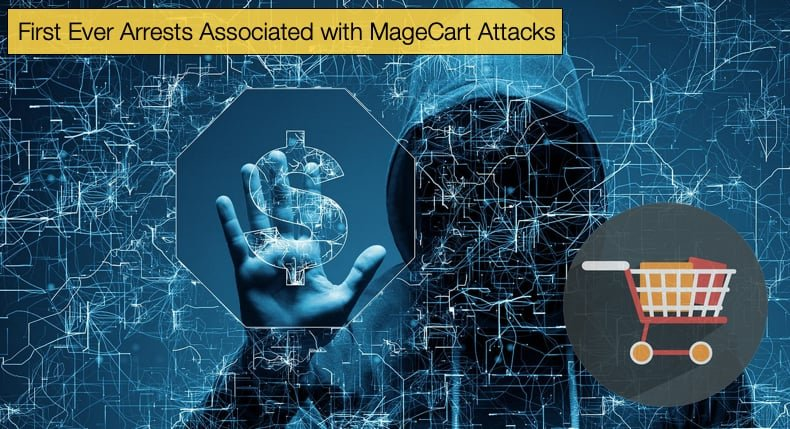 first arrest associated with magecart attcks