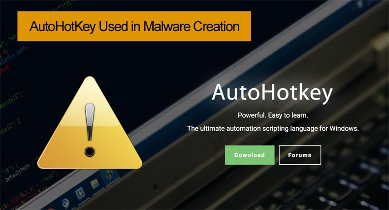 autohotkey used in malware development