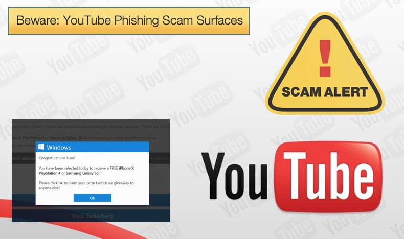beware youtube high profile phishing