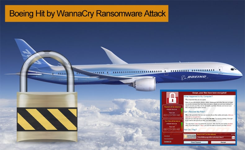 boeing wannacry ransomware attack